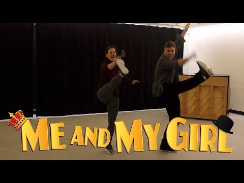 Me and My Girl Rehearsals: The Lambeth Walk