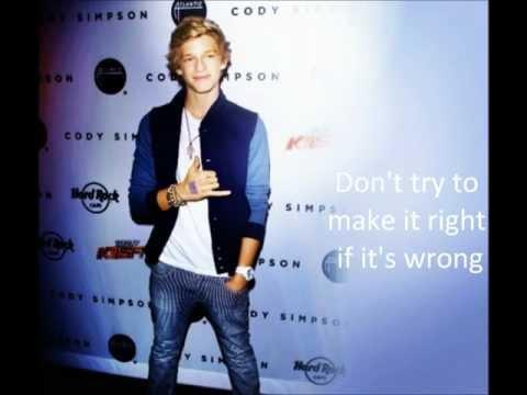 Ends With You - Cody Simpson Lyrics