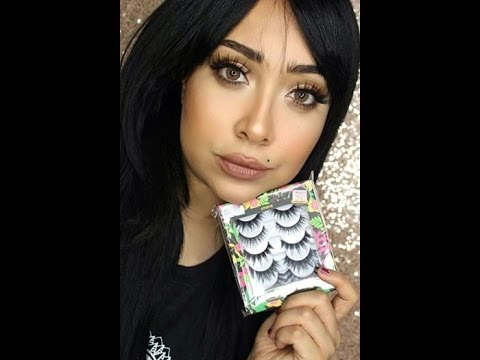 dc713558c94fd Watche now best lashes from Pinky Goat   شاهدو الان افضل نوع رموش من بينكي  جوت