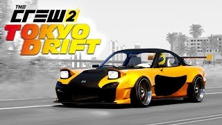 The Crew 2 - Tokyo Drift Montage