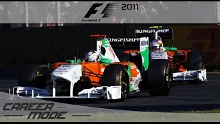 F1 2011 Career Mode - Part 1 Australian Grand Prix