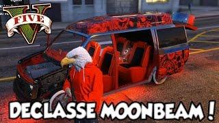 GTA V - Meu Primeiro LOW RIDER Tunando o Declasse Moonbeam DLC LowRiders