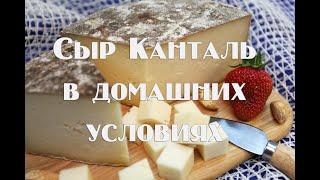 Легендарный французский сыр Канталь в домашних условиях