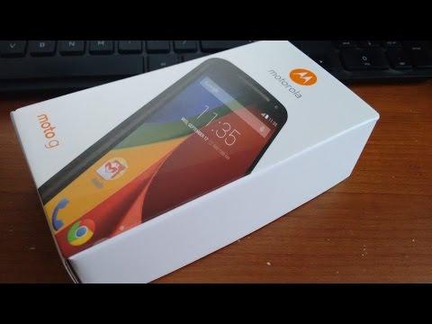 Motorola Moto G 2nd Generation (UNBOXING)
