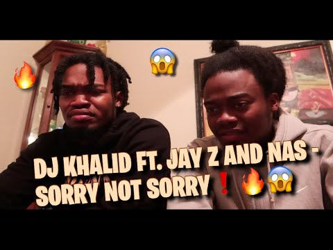 THIS IS HIP HOP!! DJ. KHALED FT.  JAY Z & NAS – SORRY NOT SORRY!! OFFICIAL MUSIC VIDEO!! (REACTION)