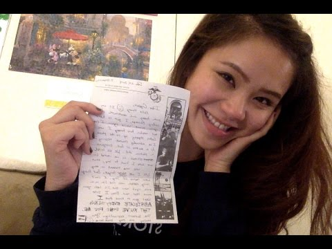 Marine Girlfriend Vlog: First Letter!!