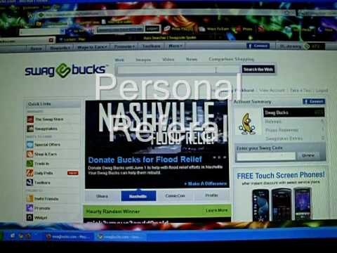 How to get THOUSANDS of SWAGBUCKS FAST AND EASY!! [NO HACK] *NEW* 2010
