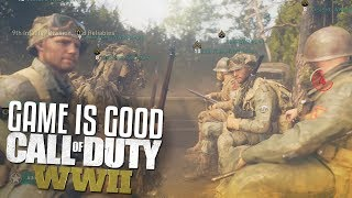 THIS GAME IS ACTUALLY GOOD! (Call of Duty: WW2 Multiplayer Gameplay - Private Beta)