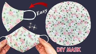 Very Easy Cute Mask Diy Face Mask Easy Pattern Sewing Tutorial How to Simple Mask Making Ideas