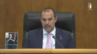 Votaciones Pleno de las Cortes 5-3-2020