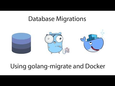 Database Migrations with Golang Migrate and Docker