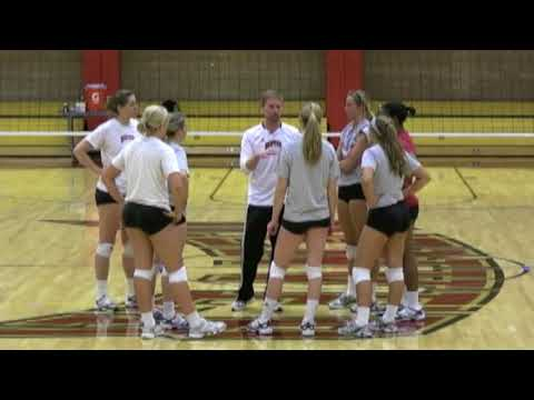 Tom Hogan Volleyball Defense Dig to Set Drill