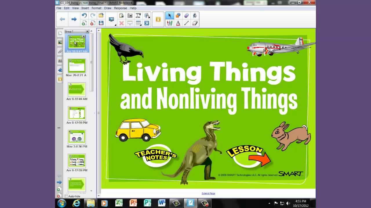 Characteristics Of Nonliving Things For Kids