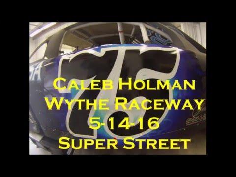 Caleb Holman GoPro Wythe Raceway 5-14-16