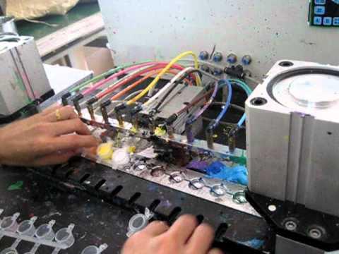 DIY Strips of mini paint pots  Automatic Dispenser Machine