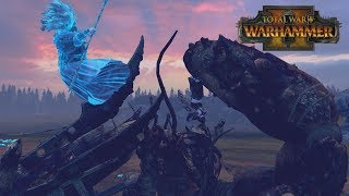 MRS CRABS IS HUNGRY - Vampire Coast vs High Elves // Total War: Warhammer II Online Battle