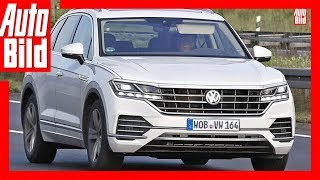 VW Touareg 3 (2017) - Fast ungetarnter Touareg 3 gesichtet