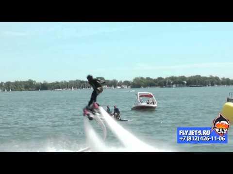 Flyboard (флайборд) трюки и сальто с Flyjets.ru