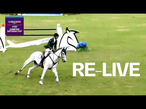 LIVE 🔴 Longines FEI Jumping Nations Cup™ | Coapexpan (MEX) | Longines Grand Prix