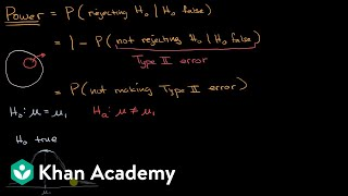 Introduction to power in significance tests | AP Statistics | Khan Academy