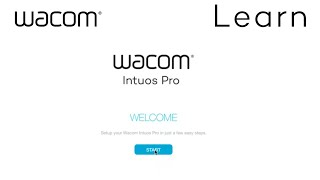 Getting Started Wacom Intuos Pro