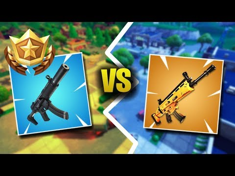 This Is Why The SMG Is Better Than The Legendary Scar (Fortnite Battle Royale)