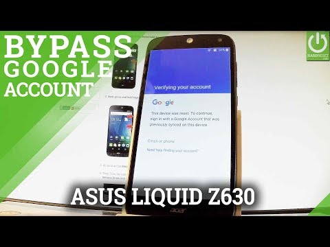 Bypass Google Account in ACER Liquid Z630 - Skip Google Verification