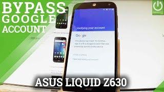 bypass Google Account in ACER Liquid Z630 - Skip Google Verification
