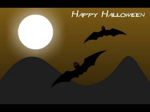 Flash CS4 CS5 CS5.5 Halloween Holiday Scene Animation Tutorial: Flying Bats