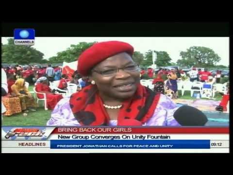 Bring Back Our Girls: New Group Converges On Unity Fountain To Disrupt Protest