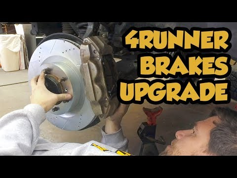 Installing Powerstop Extreme Brakes onto a 5th Gen Toyota 4Runner