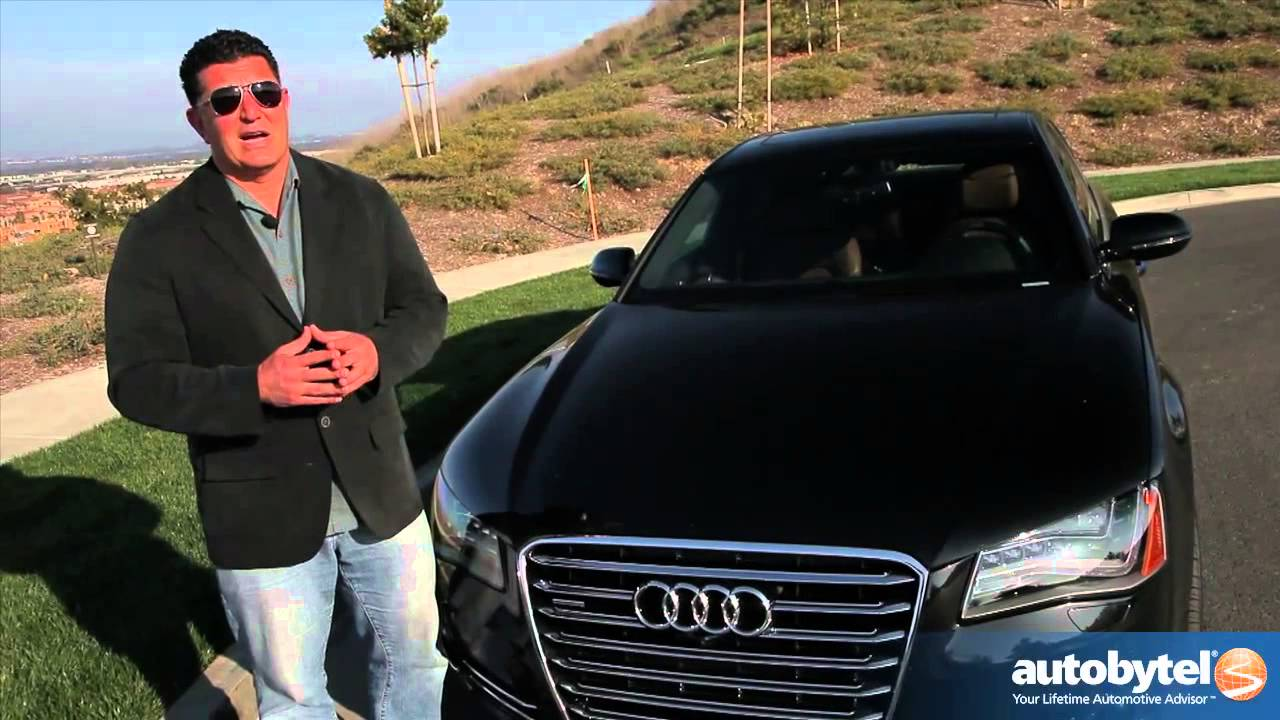 2013 Audi A8 L Test Drive Luxury Car Video Review Youtube