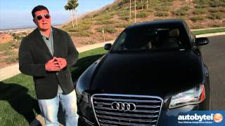 2013 Audi A8 L Test Drive & Luxury Car Video Review(http://www.autobytel.com/audi/a8/2013/?id=32972 The 2013 Audi A8 L is the top of the line luxury vehicle from this German auto manufacturer. The