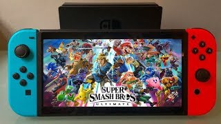 The Best Way To Play Smash Ultimate On The Go -  Black Friday Nintendo Switch Deal
