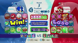 Mario & Sonic at the Rio 2016 Olympic Games - Team Sonic vs Team Mario - Heroes Showdown