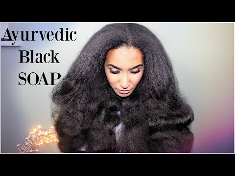 how to make black soap shampoo for natural hair