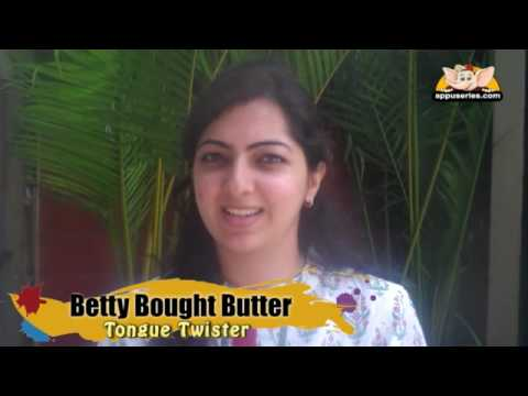 Tongue Twister - Betty Bought Butter