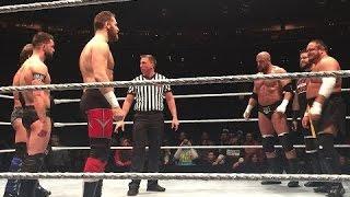 WWE Live Buffalo 2017 - finn balor returns in wwe ring at wwe live event in buffalo new york