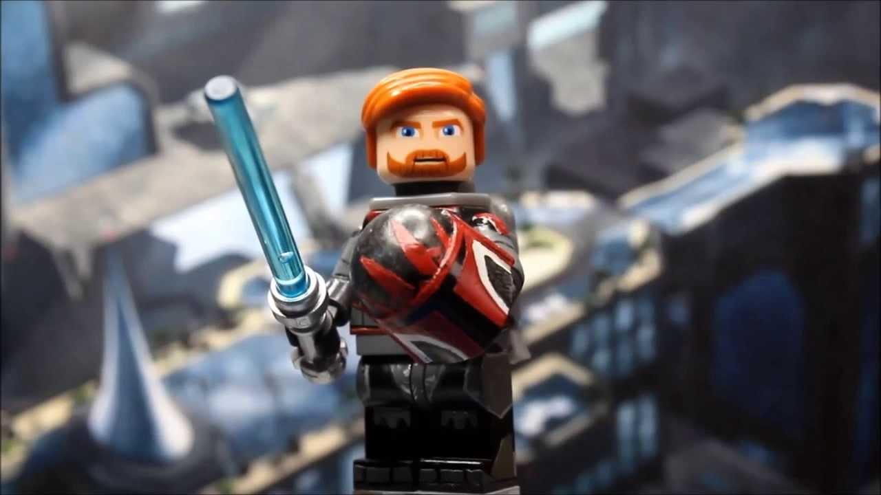 Obi Wan Mandalorian Lego Custom Showcase YouTube