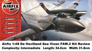 Airfix 1:48 De Havilland Sea Vixen FAW.2 Kit Review