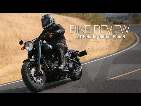 2016 Harley-Davidson Softail Slim S Review - MotoUSA