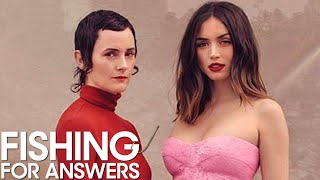 'No Time to Die' Star Ana de Armas & Stylist Karla Welch Play 'Fishing for Answers' | THR