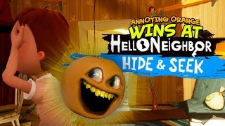 Download Video Annoying Orange Wins Hello Neighbor: Hide and Seek!!! MP3 3GP MP4