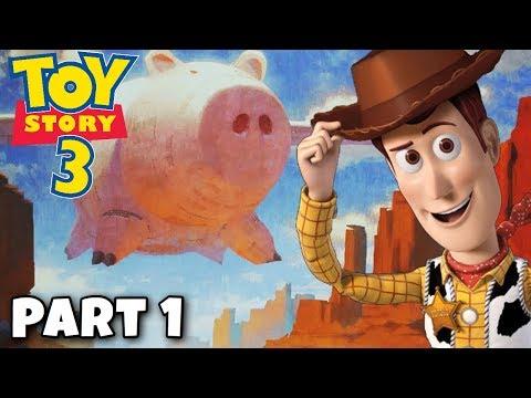 RIDE LIKE THE WIND BULLSEYE! (PART 1) - Toy Story 3