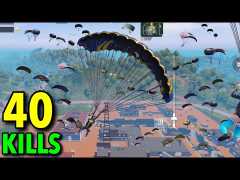 NEW RECORD IN BOOTCAMP!!! | 40 KILLS PUBG MOBILE | DUO