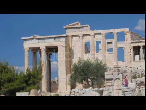 Travel View of Acropolis in Athens, Greece - Stock Footage | VideoHive 14384132