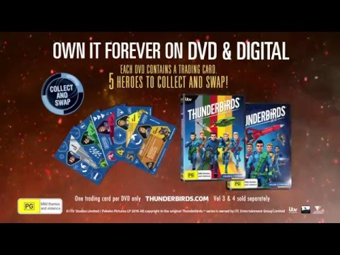 THUNDERBIRDS Vol 3 and 4 - Out now on DVD & Digital