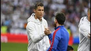 Cristiano ronaldo talks about lionel messi's injury and his absence from the clasico