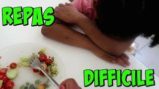 UN REPAS DIFFICILE   Vlog de Maman