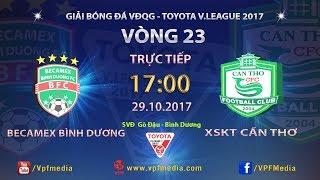Binh Duong vs Can Tho full match